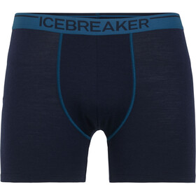 Icebreaker Anatomica Boxer Men Midnight Navy/Prussian Blue
